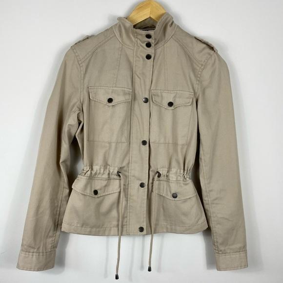 NOISY MAY - ASOS Tan Spring Zip-Up Jacket